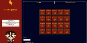 Mini-jeu : Memory Harry Potter