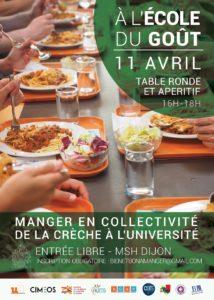 Read more about the article A l'école du goût – Table-ronde n°1